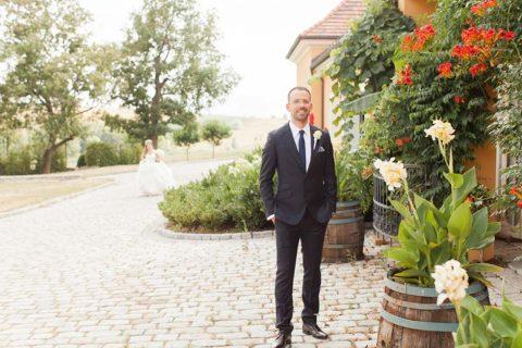 Klassisch, romantische Gartenhochzeit
