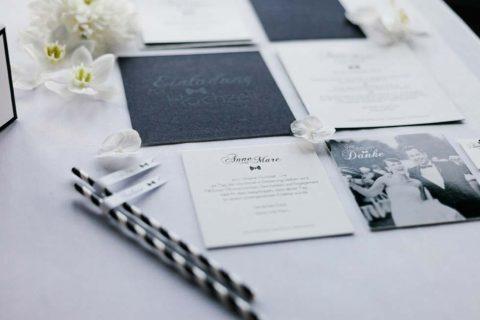 Urbane Black Tie Hochzeitsinspiration