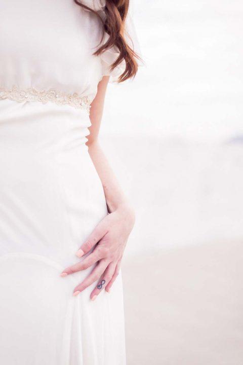 Sunrise Brautinspiration mit cremig-luftigen Details