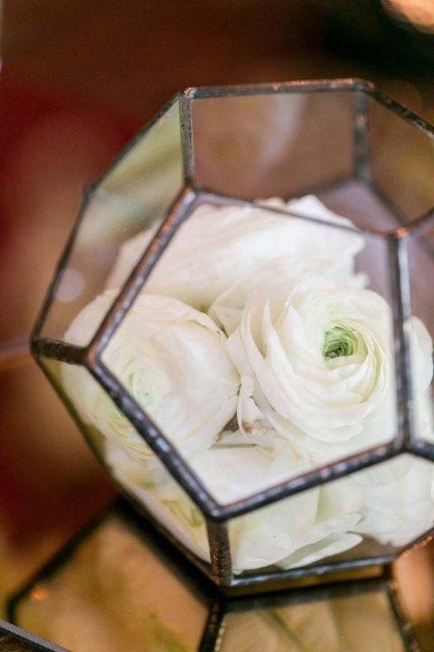 Geometrische Formen kombiniert mit moderner Eleganz