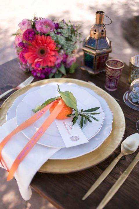Andalusische Hochzeitsinspiration mit marokkanischen Einflüssen