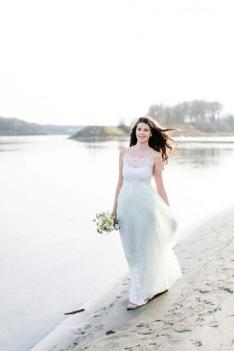 Brautinspiration: Liebesbriefe am Donaustrand