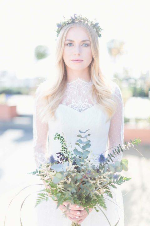 Rustikal verspielte Hochzeitsinspiration mit englischem Charme