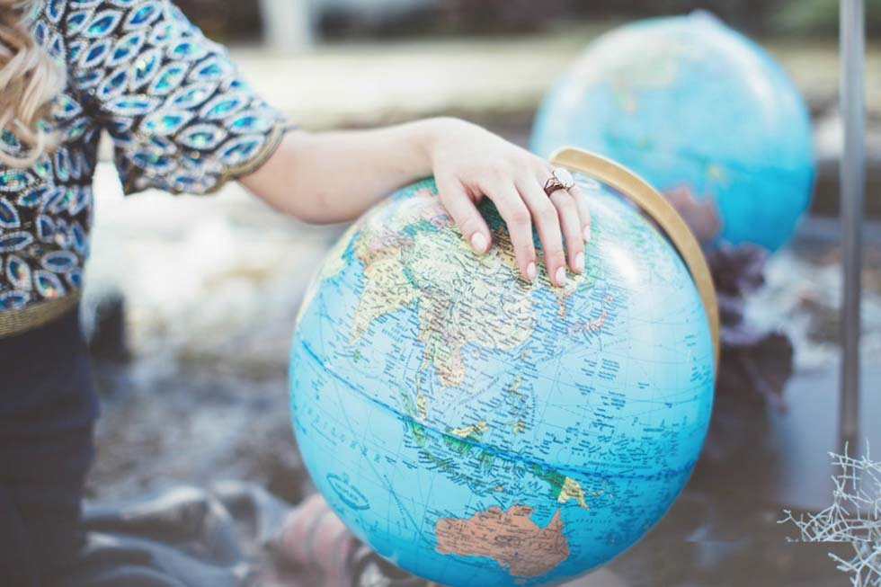 Auf Reisen geh'n und die Welt erobern