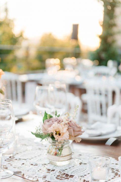 Romantische Destination Hochzeit in den toskanischen Hügeln