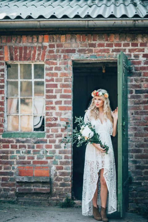 Hippie Bohemian Brautinspiration