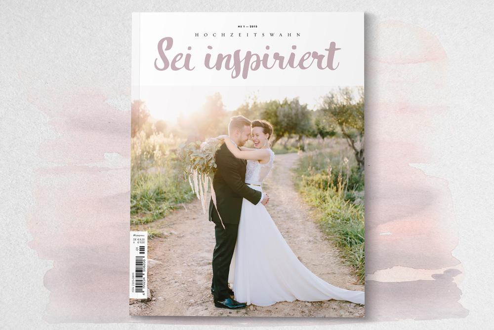 Hochzeitswahn - Sei inspiriert 01/2015 - Das neue trendige Hochzeitsmagazin