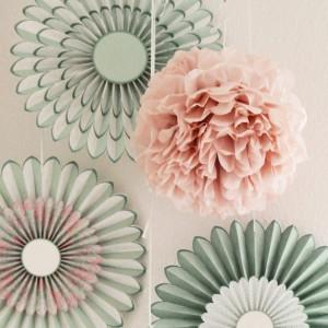 Wunderhübsche Papierfächerkollektion von PrimaDecorina