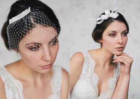 Schönmich Brauthaarschmuck Fascinator Hochzeitshaarschmuck Haarschmuck Braut Kopfschmuck Haarschmuck