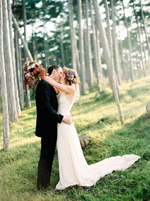 Zauberhaft, romantische Bohemian Hochzeitsinspiration