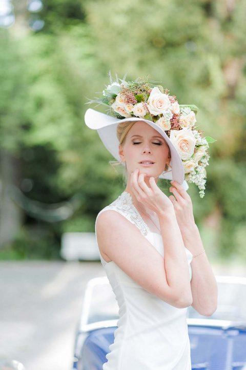 Sommerlich schick zur Standesamt-Hochzeit