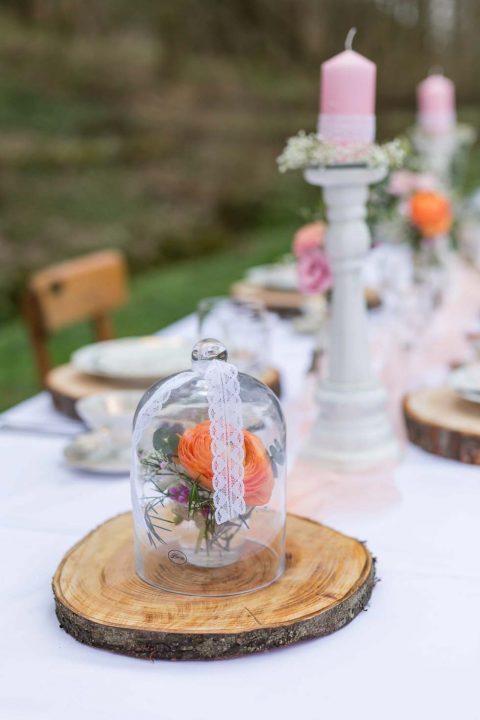 Rustikale Hochzeitsinspiration: Tischlein deck dich