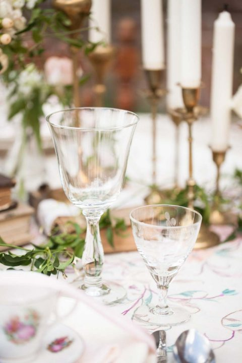 Elegante Hochzeitsinspiration im Shabby-Chic-Stil