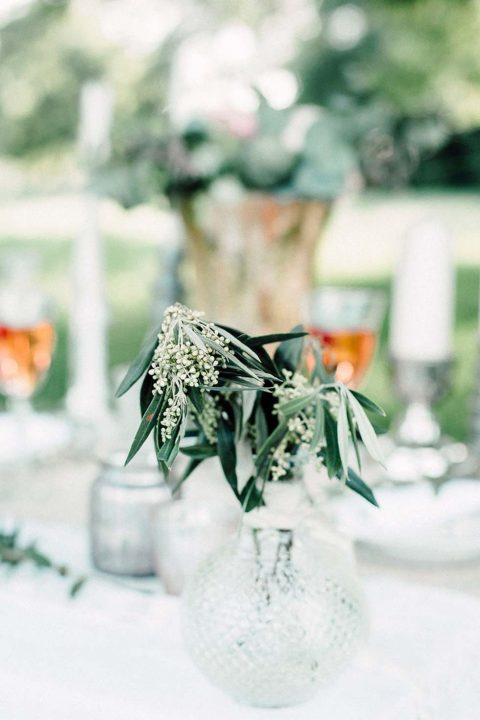 Boho-Hochzeitsinspiration: Picknick im Grünen