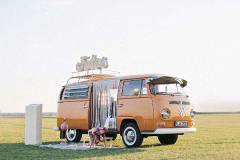 Geniales Photobooth auf Rädern: Der Fotobulli