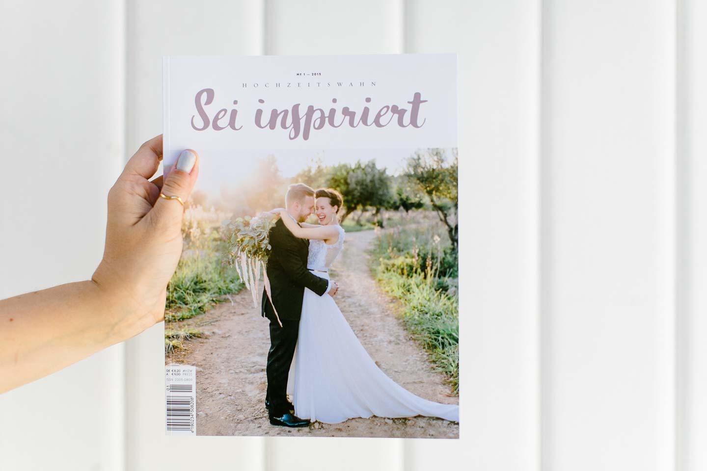 Hochzeitswahn Magazin Ausgabe 1 - Cover