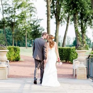 Natalie und Sebastian's Hochzeit unter freiem Himmel