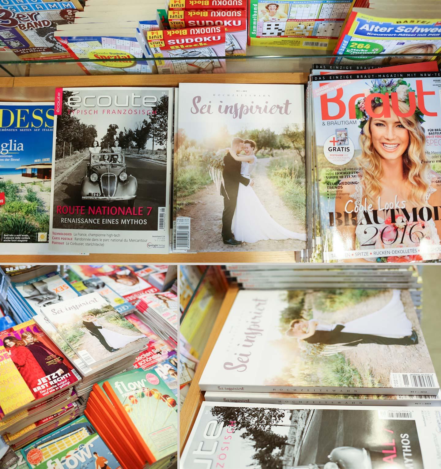 Hochzeitswahn Magazin in den Regalen von Bielefeld