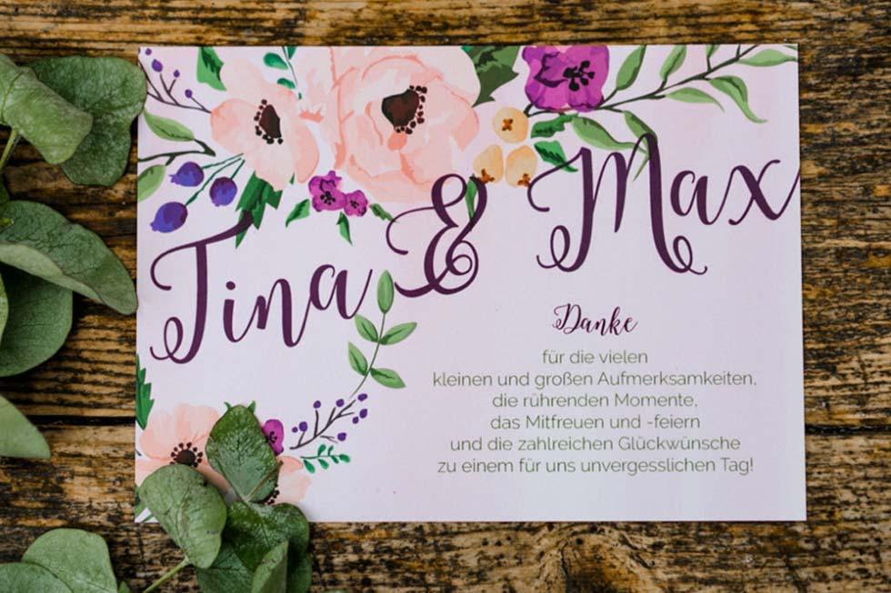Flower Power Hochzeitsinspiration