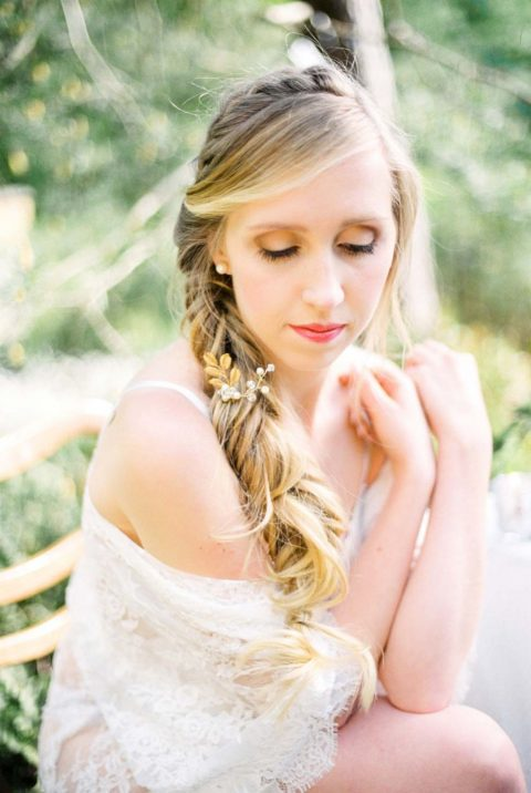 Sommerleichte Braut-Boudoir-Inspiration