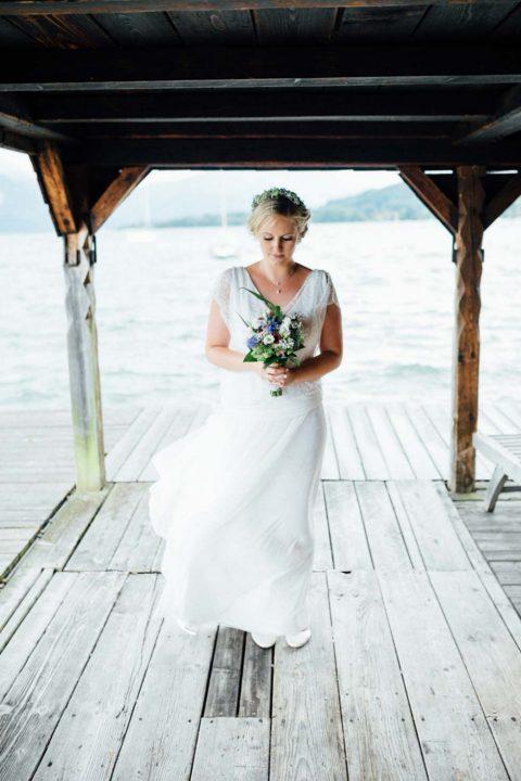 Romantische Hochzeit im Grafengut am Attersee