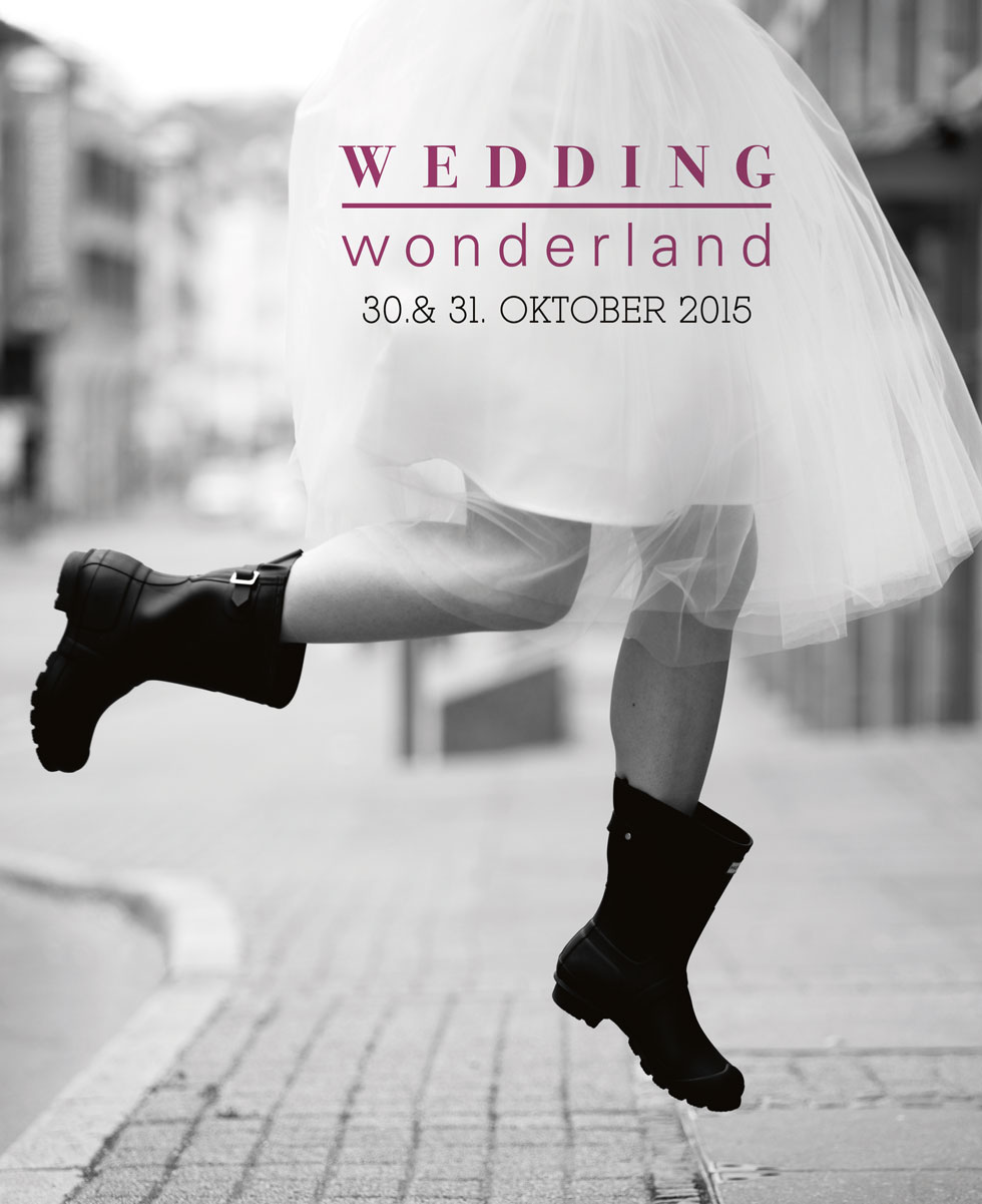 WeddingWonderland Messeevent Oktober 2015