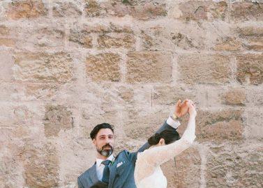 Teresas und Maurizios Traumhochzeit: Vintage trifft auf Romantik und Wiener Tradition