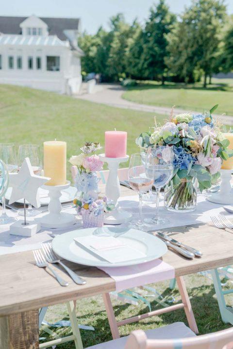 Ice Cream Dream: Hochzeitsinspiration im amerikanischen Pastell