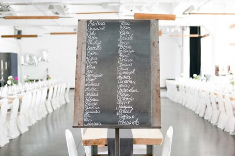 Tina und Marcel: Ihre elegante Hochzeit im Industrial-Chic