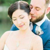 Annette und Frederiks DIY-Hochzeit in bunten Pastellfarben