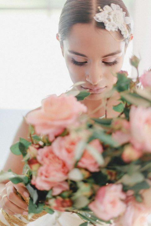 Subtiler Glamour und zarte Farbtöne: Ein Styled Shooting für romantische Bräute