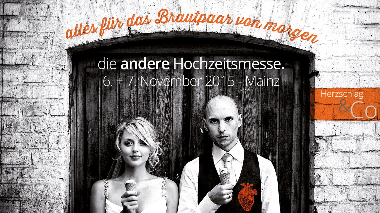Hochzeitsmesse für Außergewöhnliches: Gewinnt Tickets zur HERZSCHLAG & CO am 6. und 7. November in Mainz