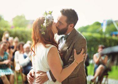 Zauberhafte DIY-Vintage-Hochzeit mit Rosmarin und Lavendel