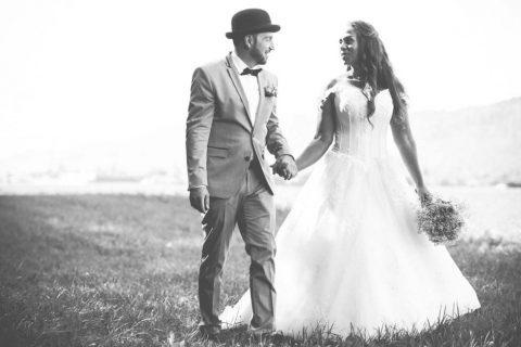 Die Märchen-Hochzeit im Vintage-Stil von Melody und Philippe
