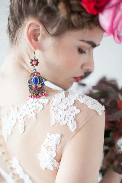Inspiriert von Frida Kahlo: Malerische Hochzeitsinspiration im mexikanischen Stil