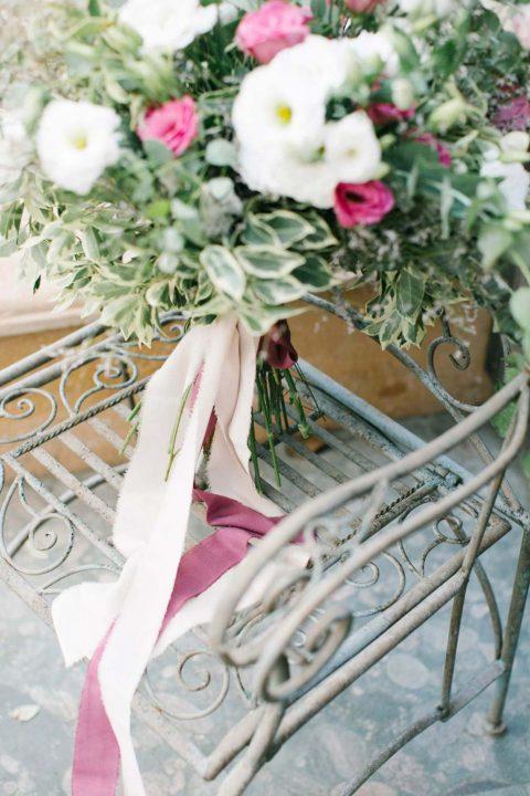 Blumiger Hochzeitstraum in der Türkei