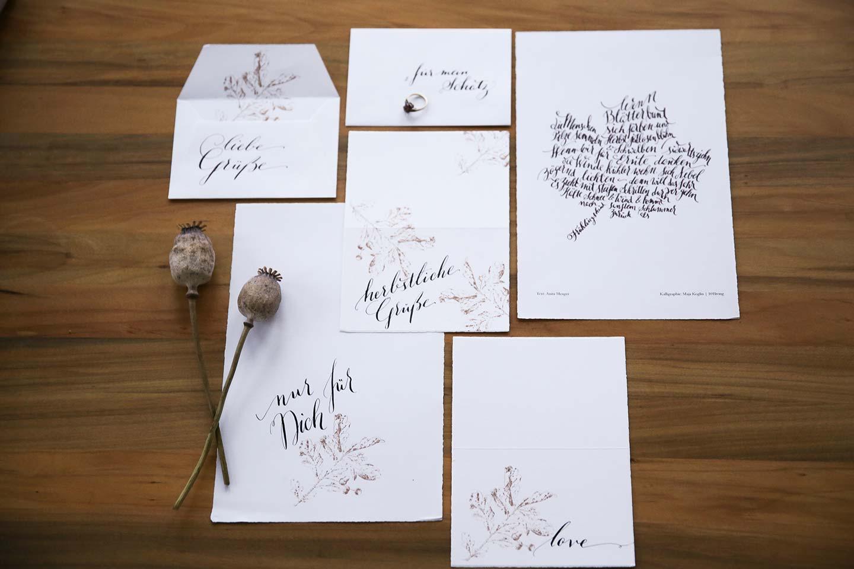Flower Power für die Herbst-Hochzeit