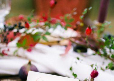 Natürliche Folklore-Hochzeitsinspiration in Marsala