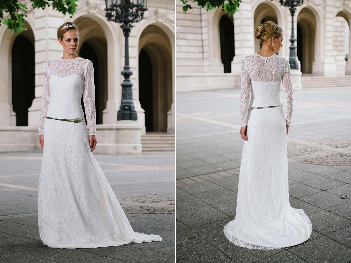 Wunderbar Brautkleider ältere Braut Ideen - Hochzeit Kleid Stile ...