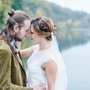 Herbstliche Hochzeitsmagie an der Isar