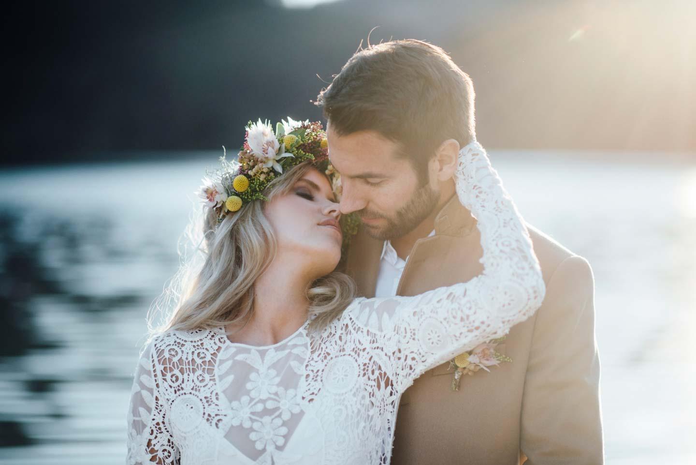 Eine Indian Summer-Braut in den Alpen - Hochzeitswahn - Sei inspiriert!