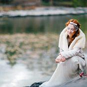 Xmas in New York: Schillernde Hochzeitsidee im Stil der 20er-Jahre
