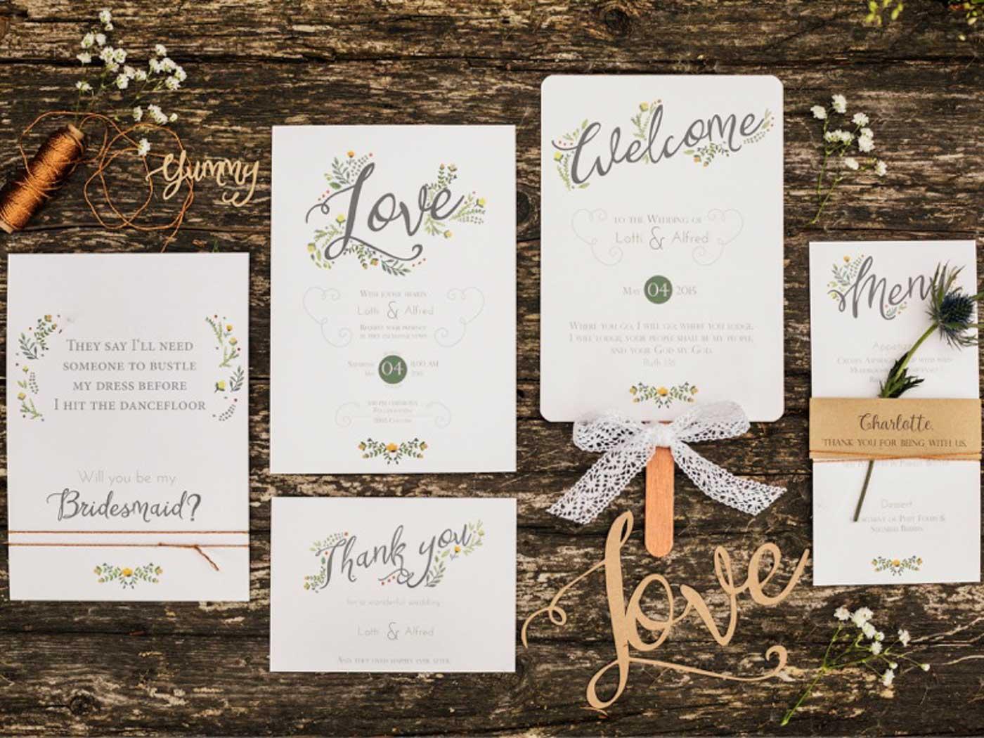Traufabrik Papeterie - Hochzeitswahn - Sei inspiriert! - Einladungskarten Hochzeit Frankfurt