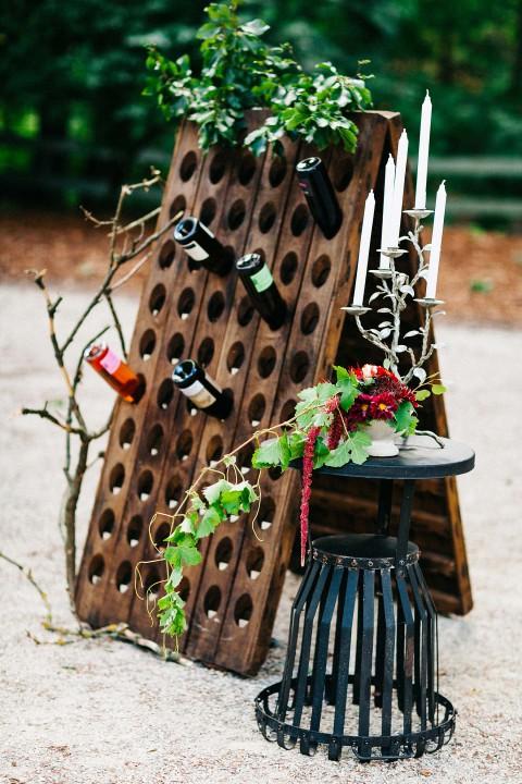 Liebe, Wald & Wein – eine sommerliche Hochzeitsinspiration
