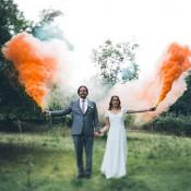 Die romantische Boho-Beach-Hochzeit von Jane & Mike