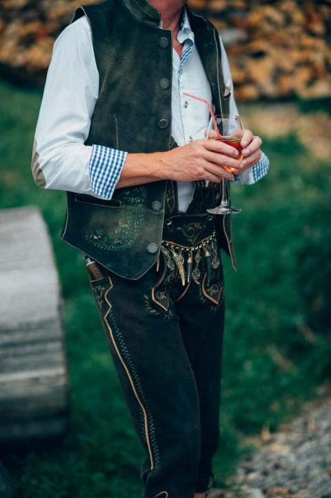 Silke & Andreas: Wenn glamouröse Alpenromantik das Hochzeitsmotto ist
