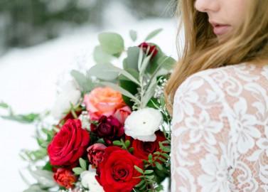 Wild & frei: Die romantische Winterbraut