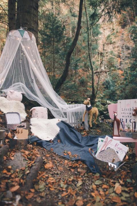 Verborgene Waldhochzeit: Eine Inspiration im Boho-Stil