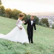 Tina & Marcel: Hochzeitsmix mit einem Hauch Vintage