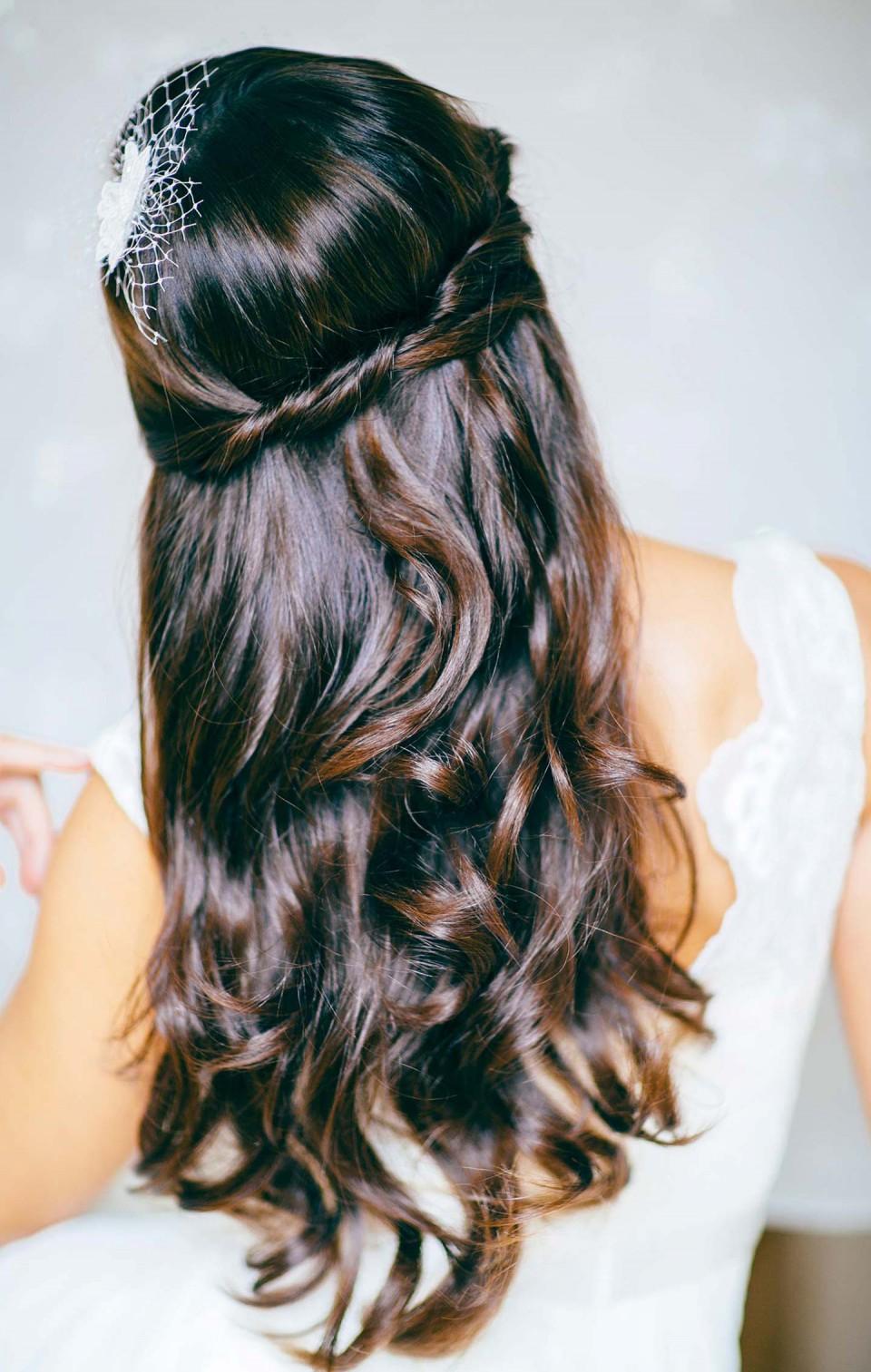 7 Hochzeitsfrisuren Fur Lange Haare Zum Nachstylen Hochzeitswahn